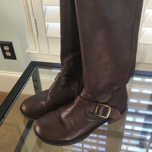 Shoes - Tall brown boots Civico brand